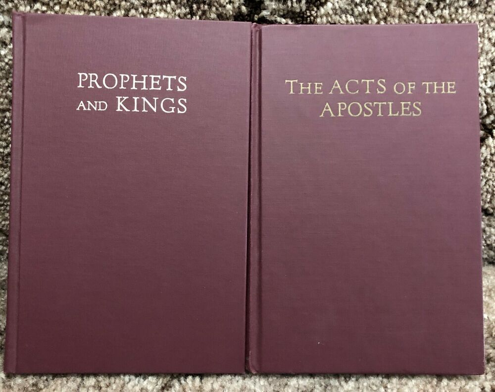 Ellen G White Duo Prophets And Kings The Acts Of The Apostles