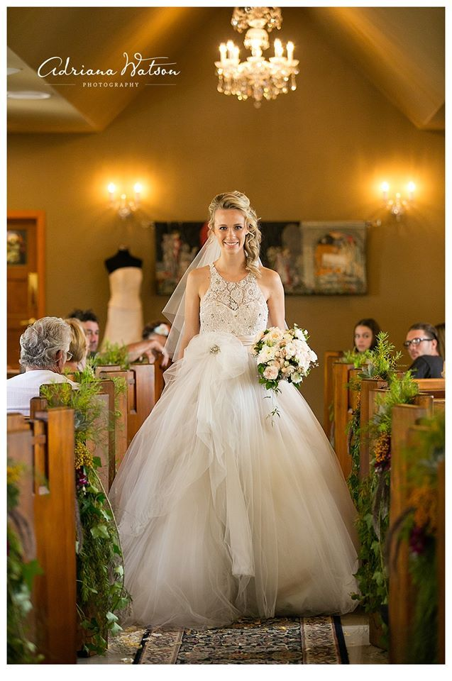 Three times award winning gown by Marilyn Crystelle Bridal at Chapel ...