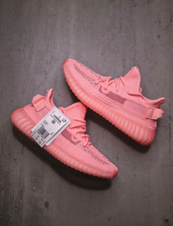 hot pink yeezys