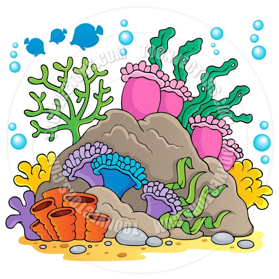 coral cartoon | Coral Reef Clip Art http://www.toonvectors ...