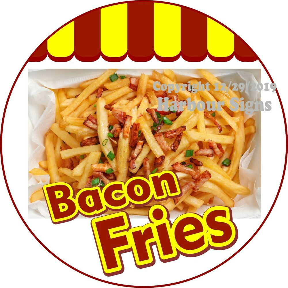 Fried Pies Decal Concession Stand Food Truck Sticker
