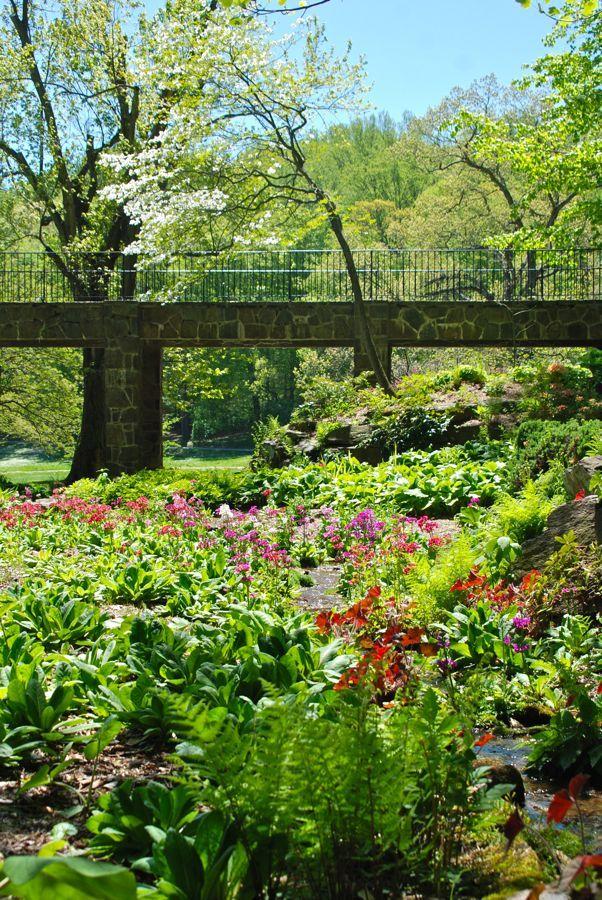 Ordinaire Quarry Garden In Full Bloom Winterthur Gardens Near Philadelphia, PA
