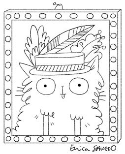 I Heart Colouring Cats Erica Salcedo Illustration Potfolio Cute Animal Illustration Illustration Crocodiles