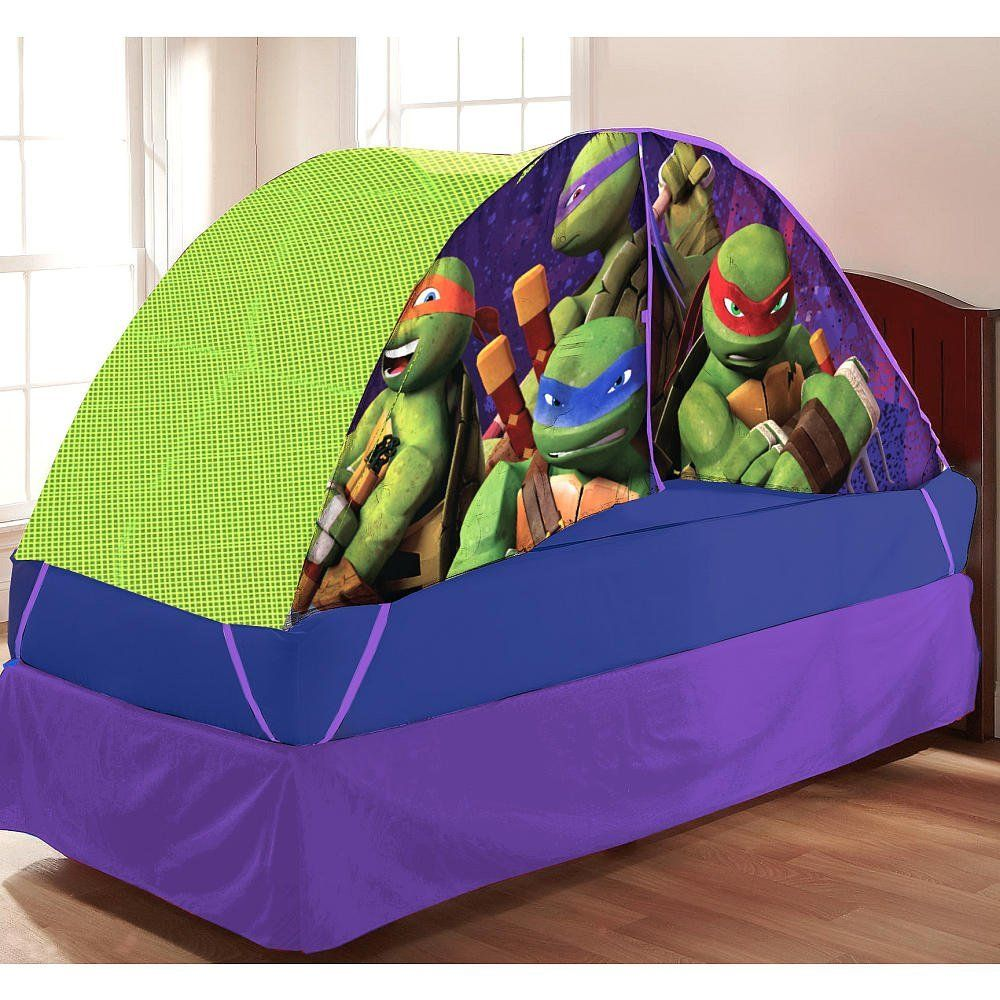 Teenage Mutant Ninja Turtles Bed Tent With Pushlight Ninja Turtle