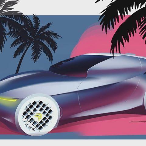 Weird little Citroen doodle . . . #car #transportation #minimalism #ferrari #automotivedesign #transportationdesign #cardesign #carsketch #citroen #cardesigncommunity #sketch #sketchbook #render #photoshop #doodle #doodles #bmw #designerspen #design #3dprinted #designdaily #wacom #cintiq #toronto #canada #everyday #daily #concept #conceptart #cardesignconcept