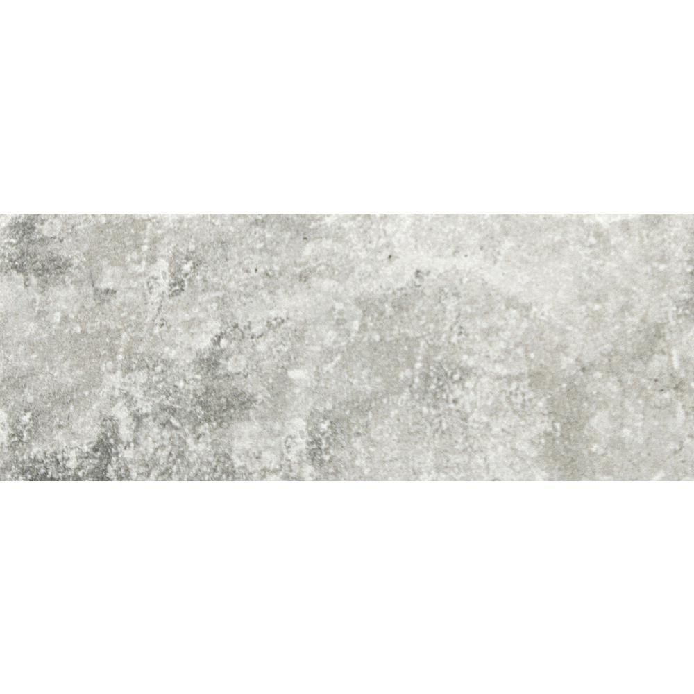 Emser Newberry Grigio 3.94 in. x 7.87 in. Porcelain Floor and Wall ...