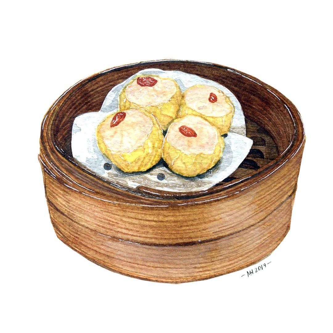Siomai love art illustrations alimentaires food - Livre cuisine vietnamienne ...