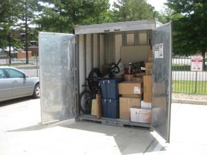 Pack and ship moving containers