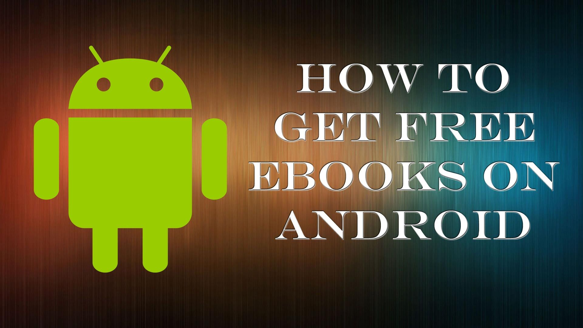 How to get free ebooks on android Free ebooks, Ebooks