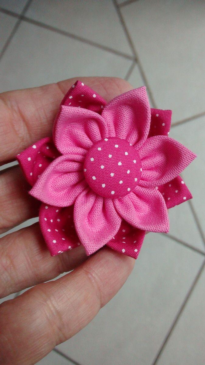 Flor de fuxico dupla pinterest fabric flowers patchwork and fabrics flor de fuxico dupla mais mightylinksfo