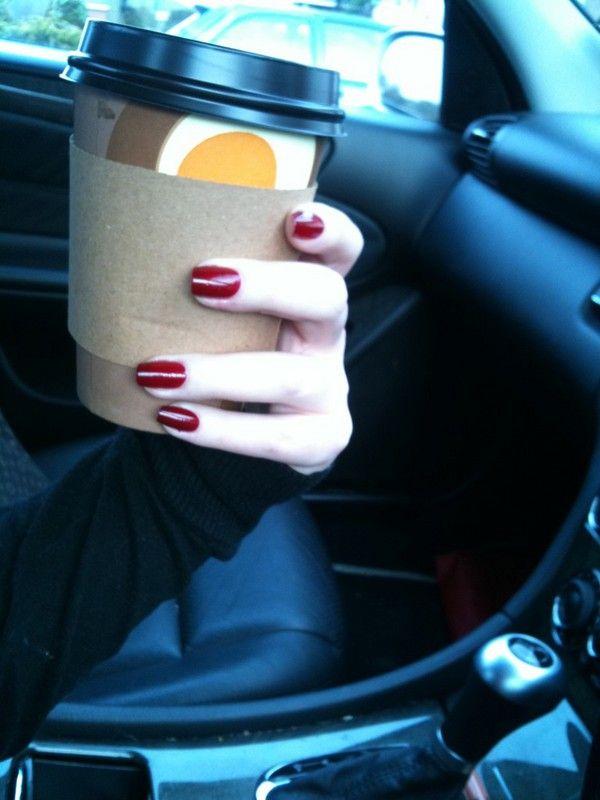 Leighton Denny - Indulgence.  Dark red :)