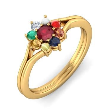 Navaratna Ring Passion Pinterest