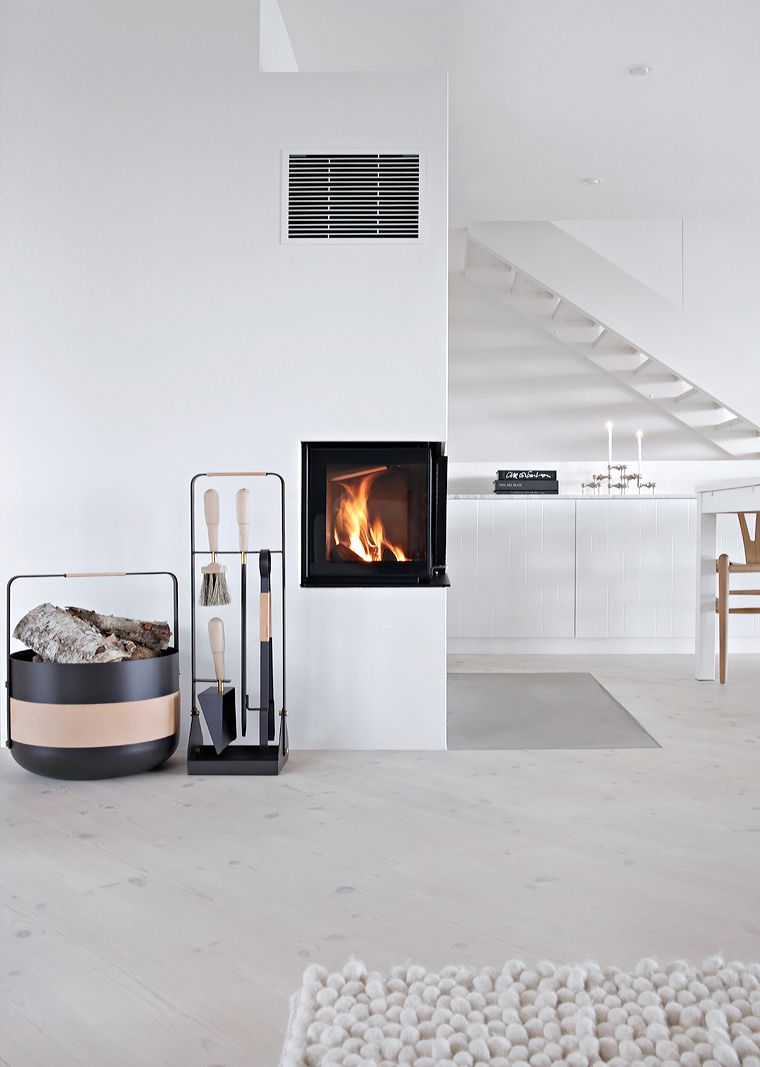 The perfect fireplace accessories | live | Pinterest | Ofen, Treppe ...