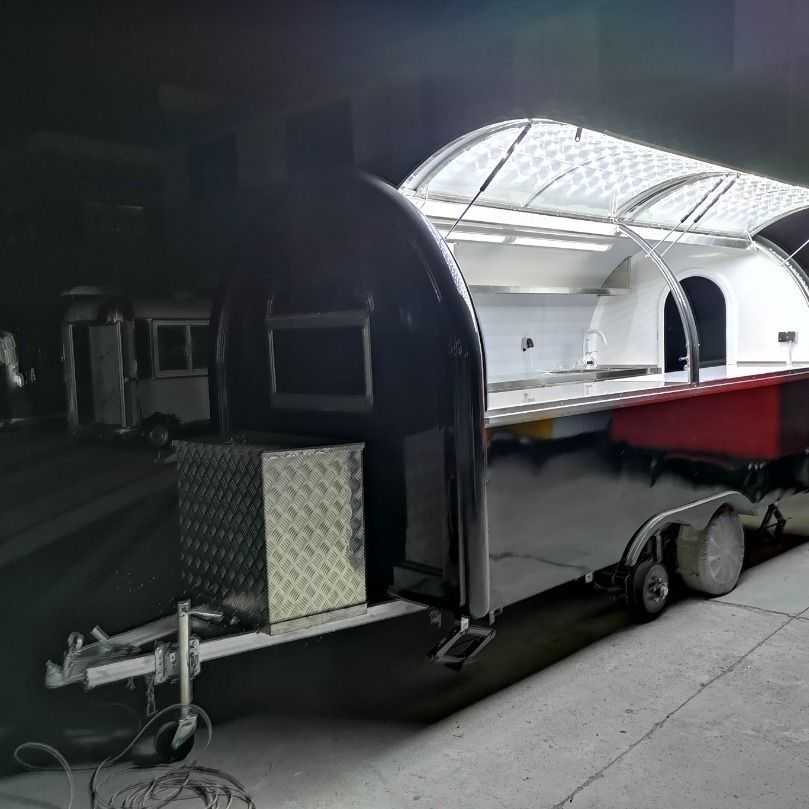 Custom made mobile food truck catering trailer concession