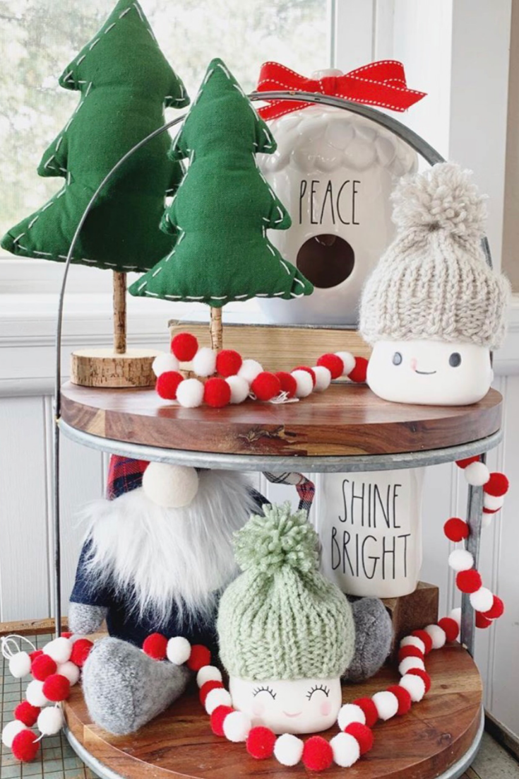 97 Farmhouse Christmas Decor Ideas