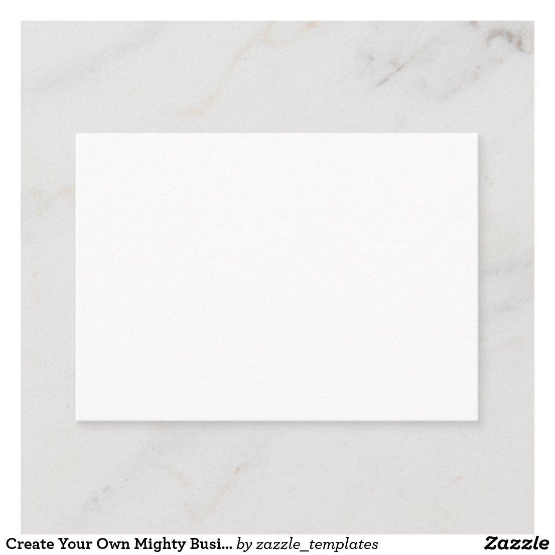 Create Your Own Business Card Zazzle Com Create Your Own Business Simple Business Cards Modern Business Cards