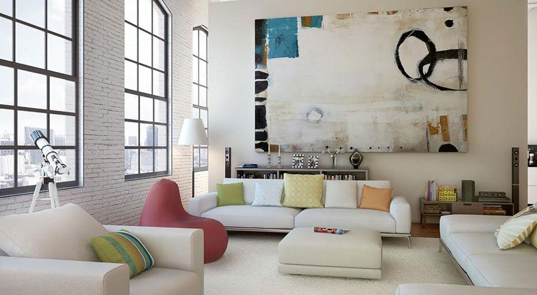 Quadri Moderni Per Decorare Casa Salotti Eleganti Camere