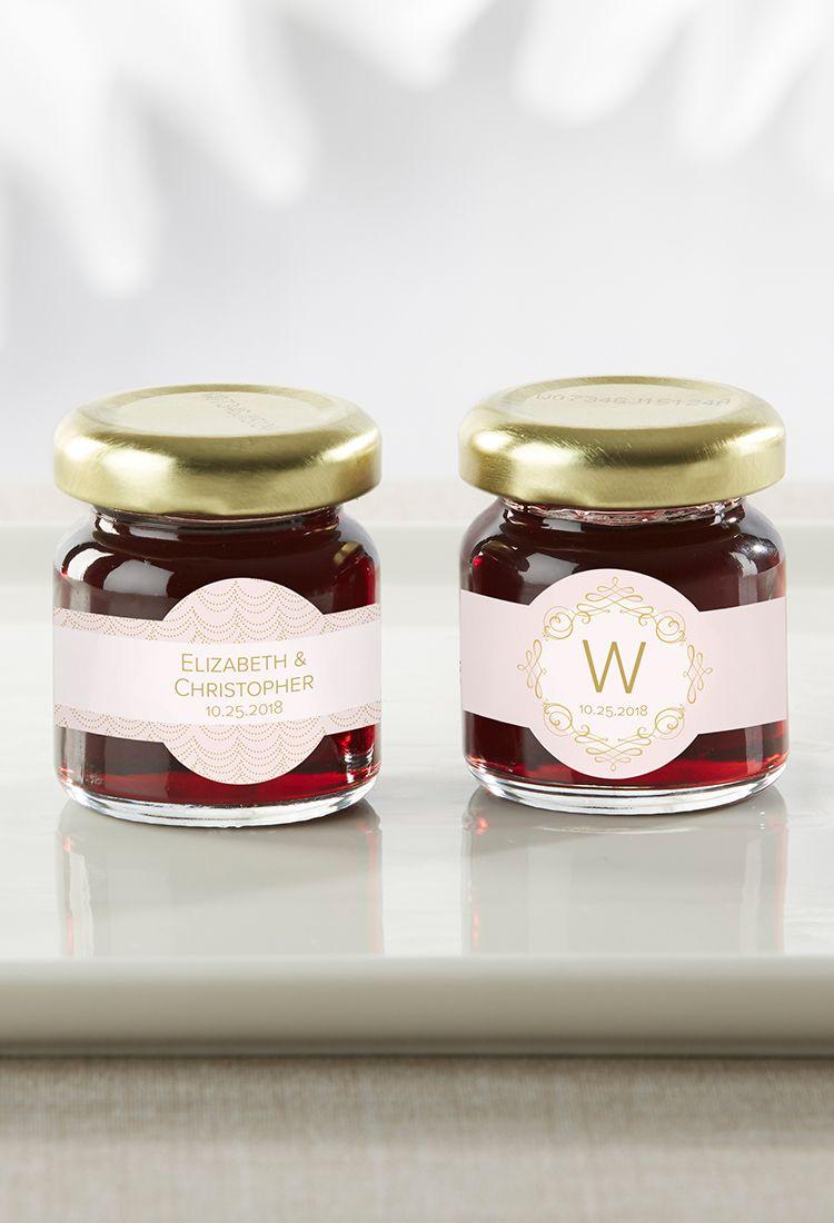 Personalized Modern Romance Strawberry Jam (Set of 12) | Modern ...