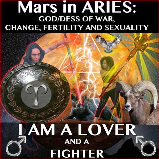 Aries if the gladiator that seeks physical and measurable results and Scorpio is the mystic elder of the tribe confronting challenges using traditional methods and psychic precision.