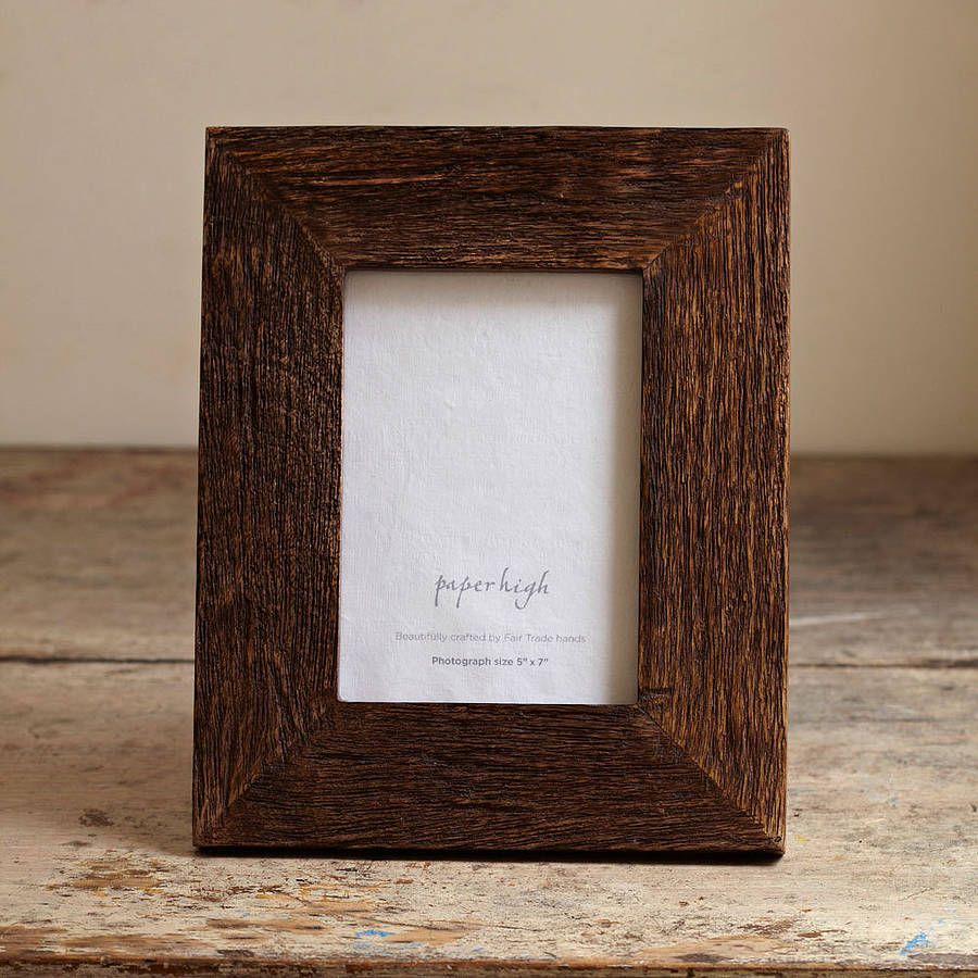 12 inspirational diy picture frame ideas making yours like never are you interested in our rustic reclaimed wooden large photo frame by moa with our rustic reclaimed wooden large photo frame by moas you need look no jeuxipadfo Images