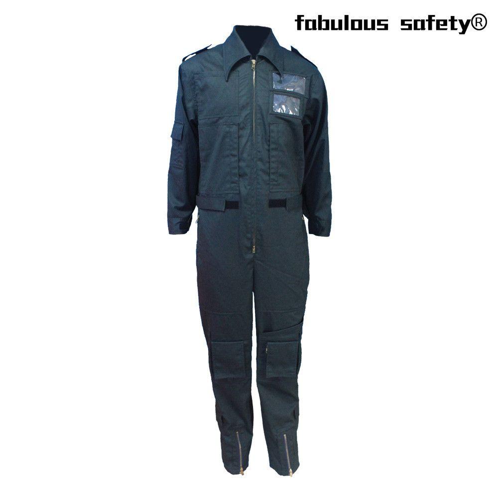Cheap Fire Retardant Clothing >> Arc Flash Black Flame Retardant Coverall Yl 291 Fire Retardant