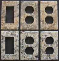 Granite Electrical Outlet And Switch Cover Plates Home