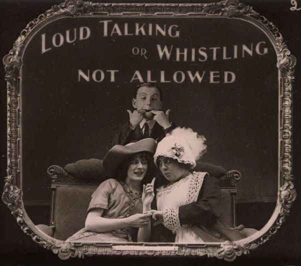 Turn-of-the-Century PSAs Shown At Silent Films Reveal Conservative Movie Culture of the Past
