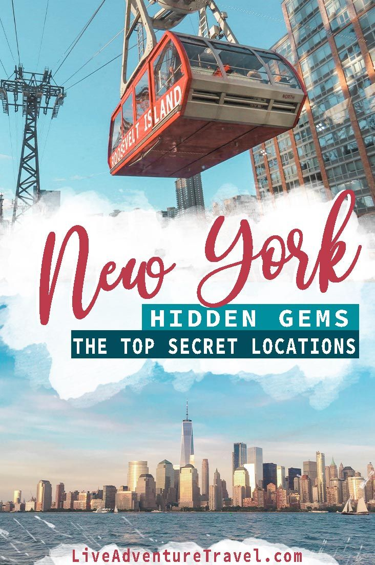 New York Travel Guide: NYC Hidden Gems & Off the Beaten Path Locations #travelnorthamerica