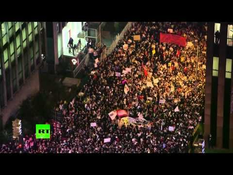 Video: Mass protests hit Brazil over transport fares, FIFA cup overspending - http://thedailynewsreport.com/2014/03/04/top-news-videos/video-mass-protests-hit-brazil-over-transport-fares-fifa-cup-overspending/