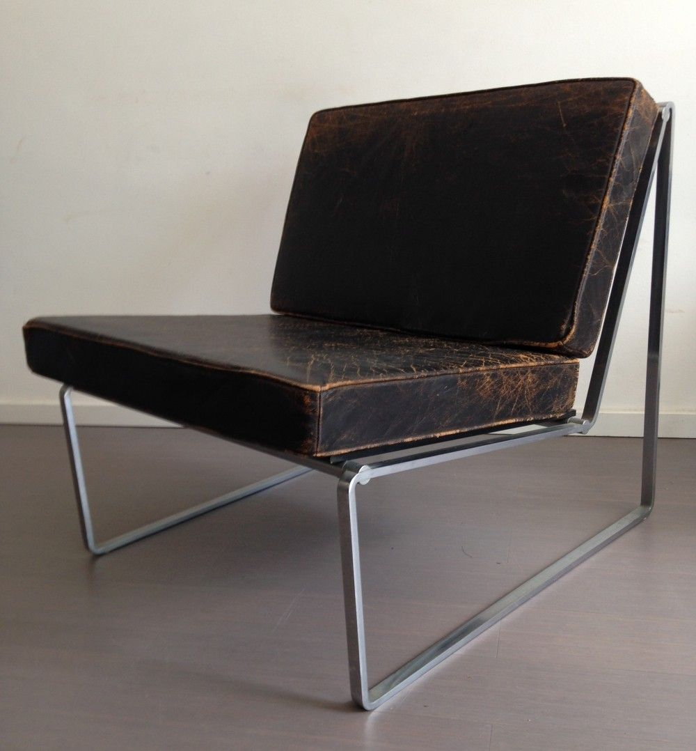 2 Model 024 Lounge Chairs From The Sixties By Kho Liang Ie For  # Muebles Sixties