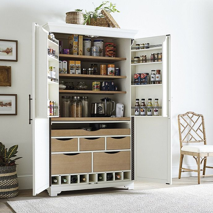 Pantry Cabinet Kitchen Cabinets, Kitchen Pantry Cabinet Ballard Designs