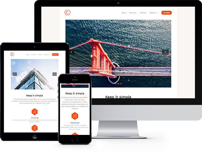 Cache: Free HTML5 Bootstrap Template - Free Responsive HTML5 ...