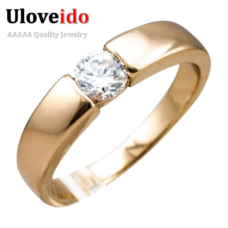 Find More Rings Information about Uloveido 2016 Rose Gold Plated ...