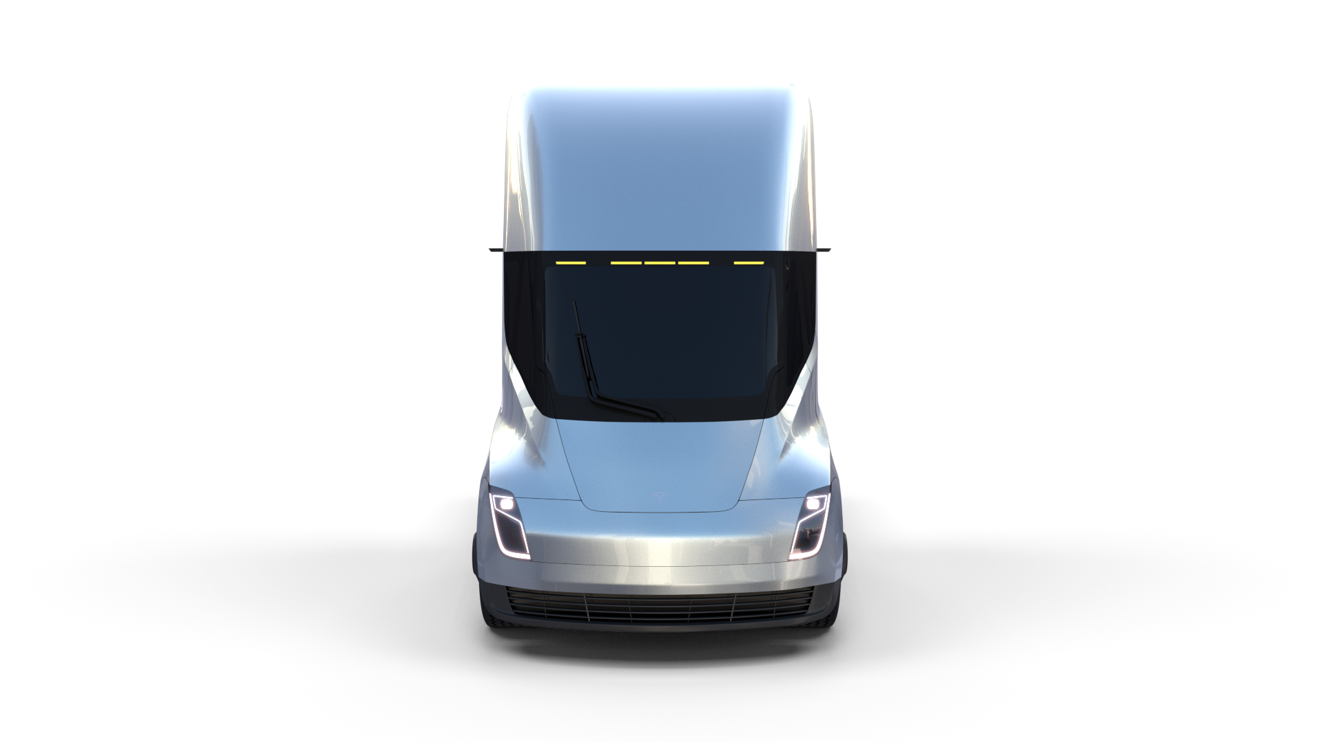 Tesla Truck Silver Tesla Trucks Tesla Semi Truck