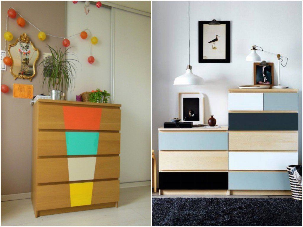 Transformer Un Meuble Ikea La Commode Malm Malm Ikea Hack And  # Customiser Meuble Ikea Cube