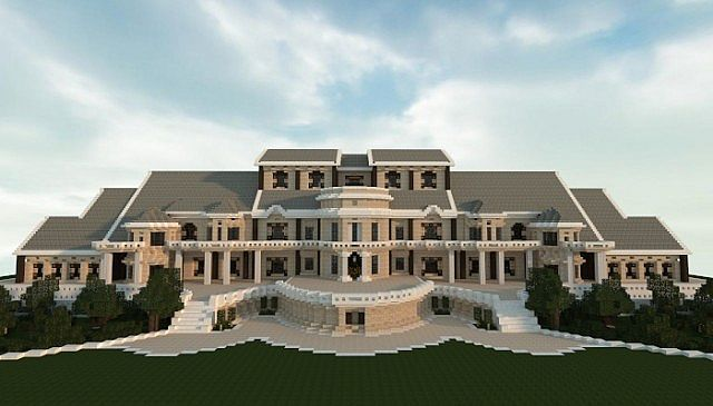 Luxury Mansion Minecraft House Designs Minecraft Mansion