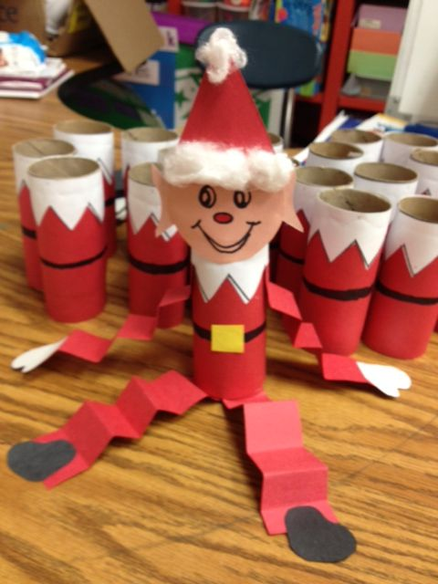 Have Students Make An Elf They Can Bring Home Loisirs
