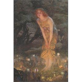 ''Midsummer Eve'' by Edward Robert Hughes Fantasy Art Print