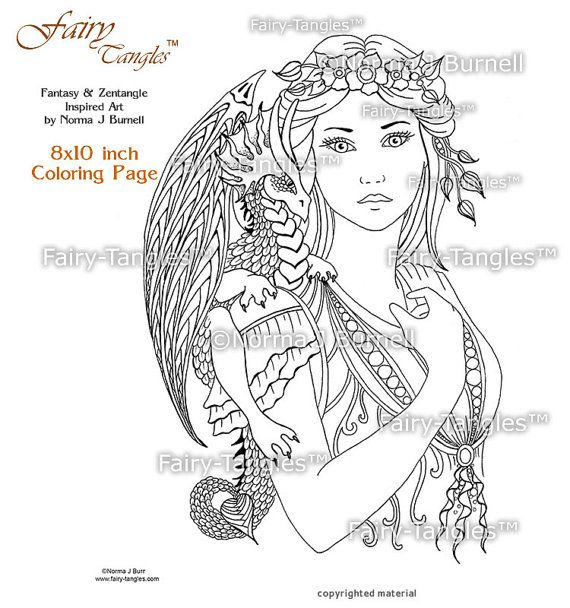 dragon and fairy coloring pages for adults fairy dragon queen coloring sheets printable coloring - Coloring Pages Dragons Fairies