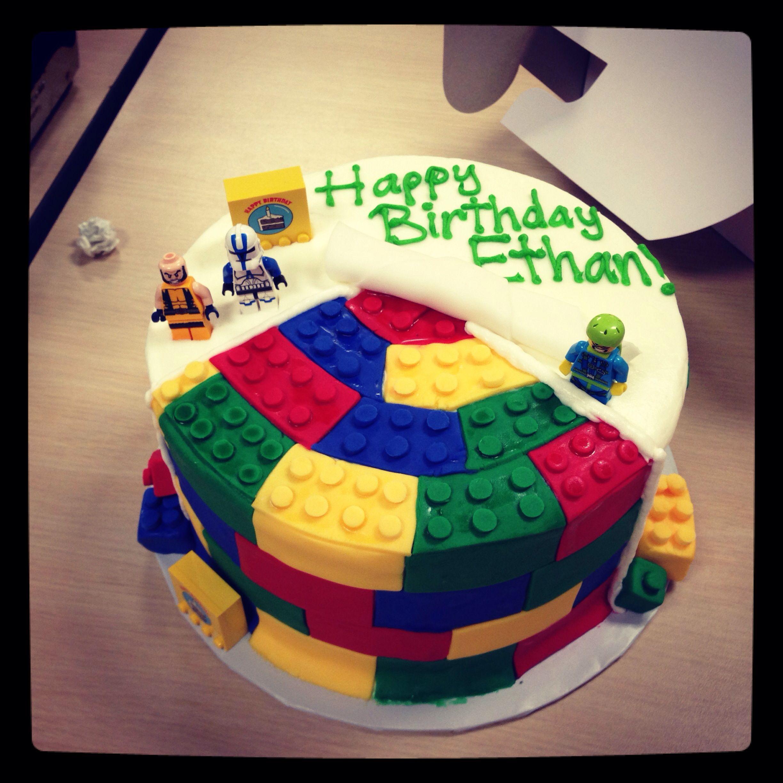 Ethans birthday cake Ethan 7th birthday Pinterest Birthday