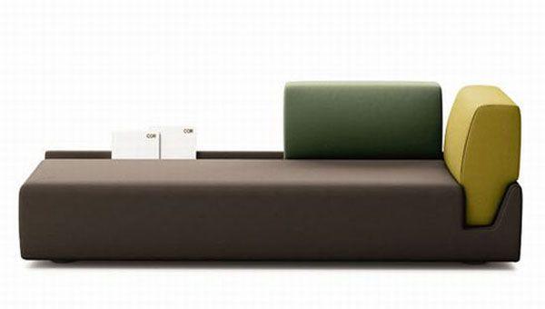 Charmant Elegant Contemporary Sofa With Detachable Back Rests   Http://freshome.com/