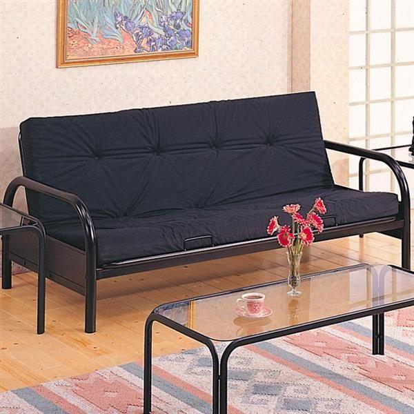 Coaster Furniture Glossy Black Metal