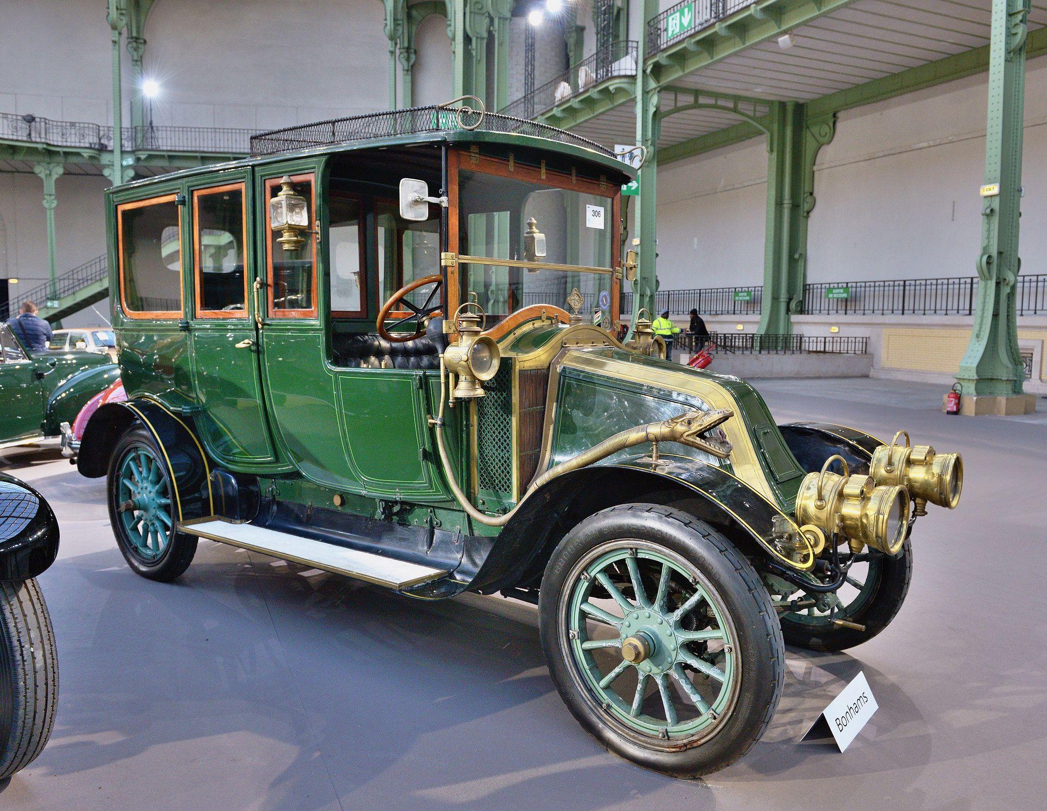 1910 Renault 35cv type AIB limousine découverte Moore and