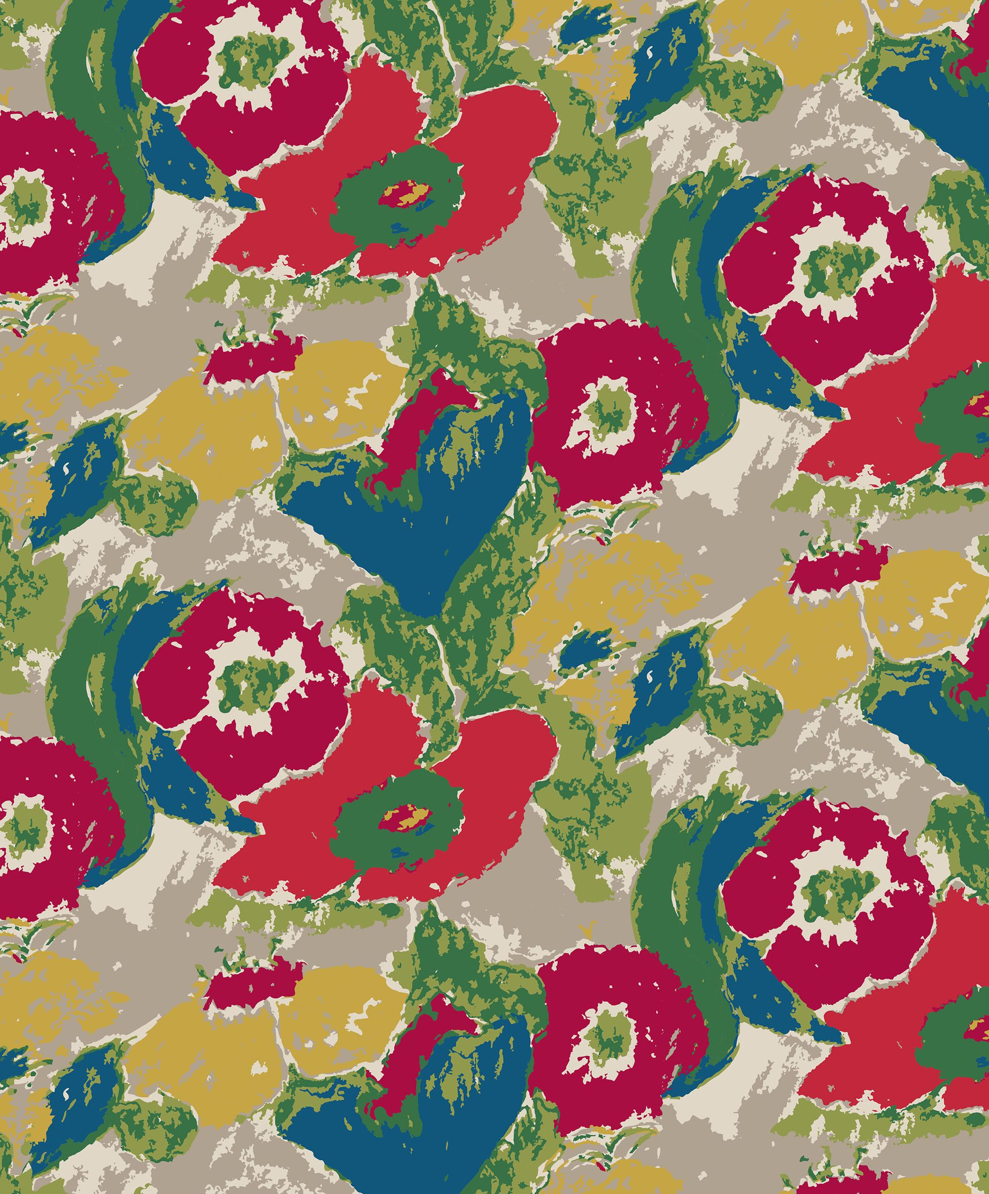 Vintage Floral Print Painterly Floral Birch Vintage Floral Print By Seasalt Cornwall