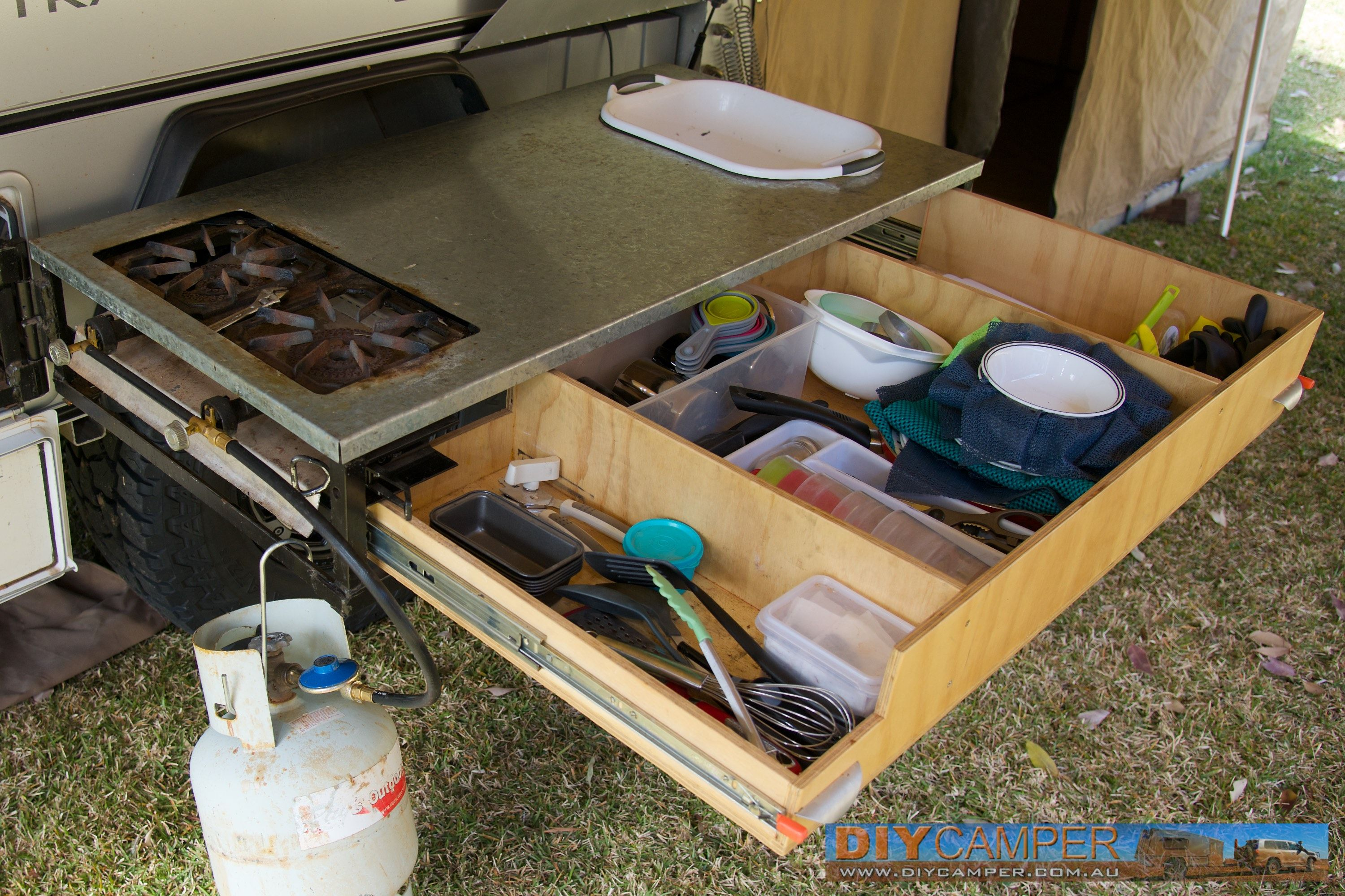 Great Bathroom : Inspiring Eureka Camper Trailer Kitchen Unit Army Makeover  Cabinets For Sale Faucets Remodel Teardrop Travel Outside Sink Hire Ideas  Trailer ...