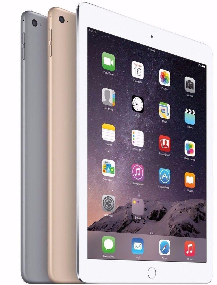 Details About Apple Ipad Air 2 9 7in Tablet Choose Color 16gb 32gb 64gb 128gb Grade A B Or C Ipad Mini Ipad Air Apple Ipad