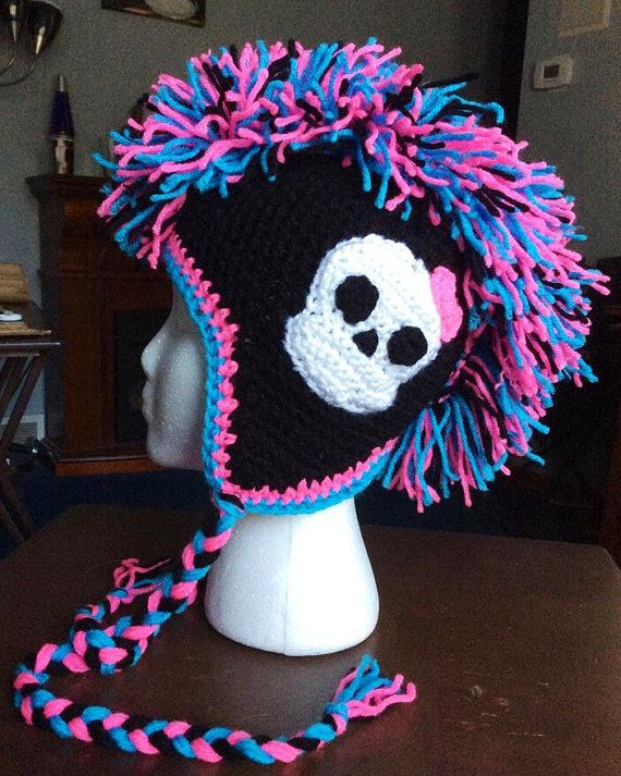 Custom-Made Monster High Mohawk Hat by Sacristitchous on Etsy | Art ...