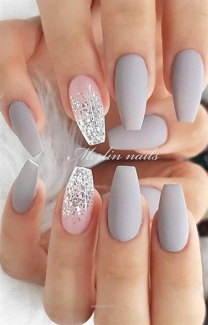 Pin By Elliotttorres On Nails In 2020 Matte Nails Design Cute Acrylic Nails Diy Nails Manicure