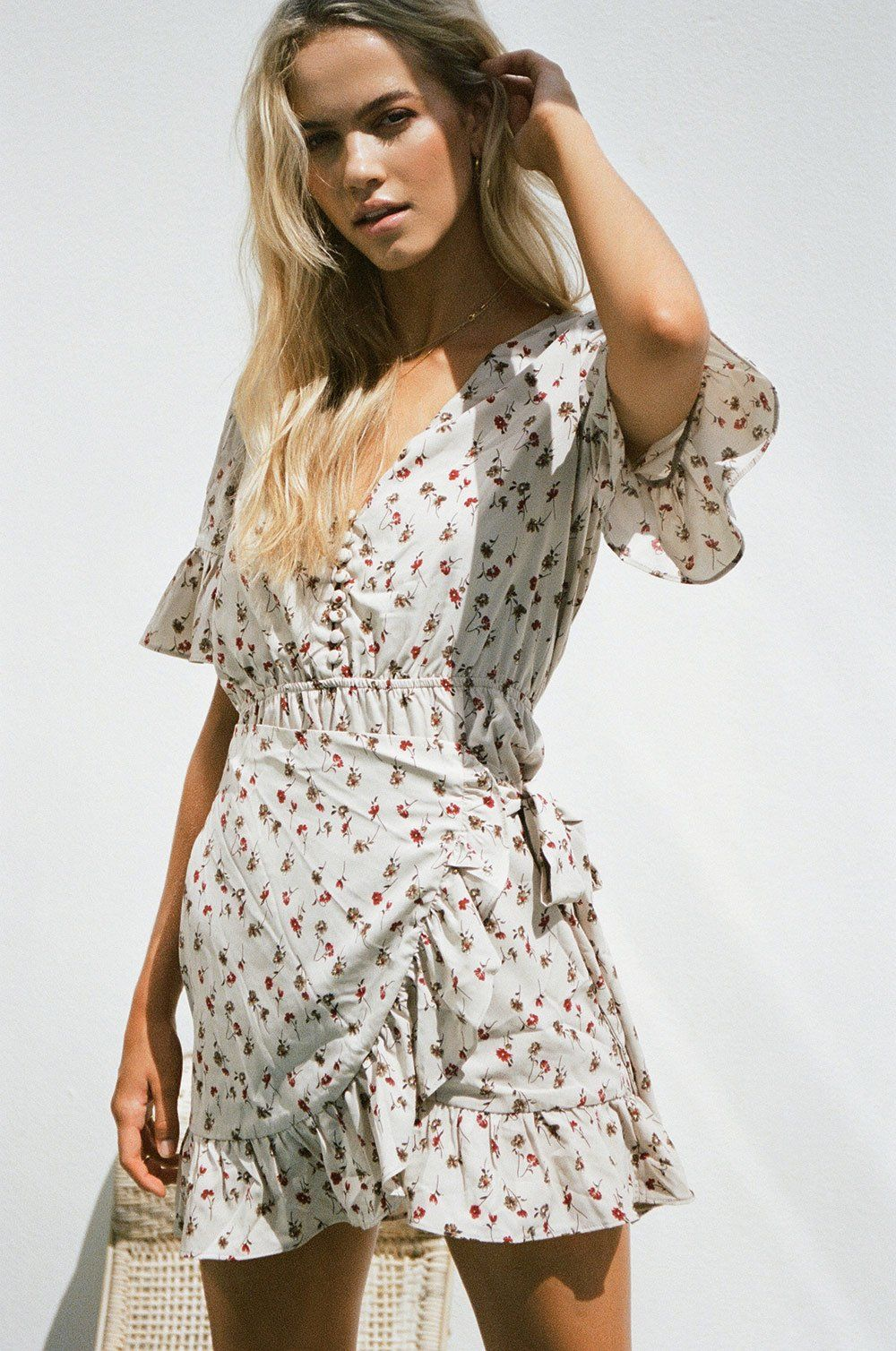 e8647ac1f5 Floral Tyra Dress - Dresses in 2019 | Summer Style | Dresses, Sabo ...