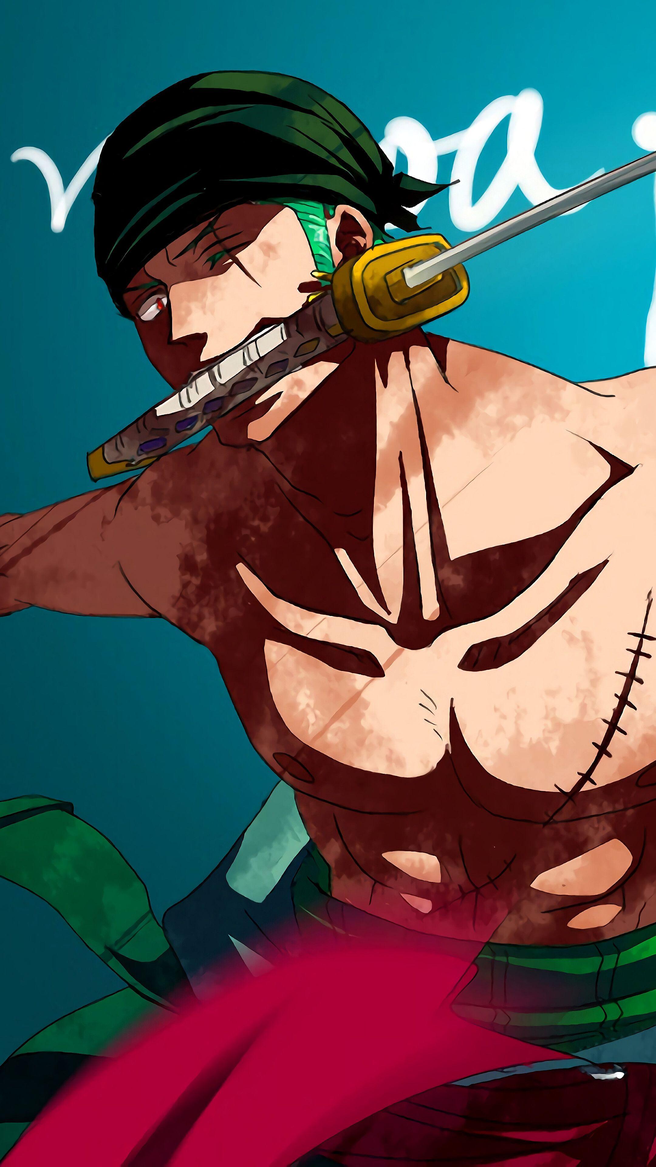 One Piece Iphone Wallpaper Zoro